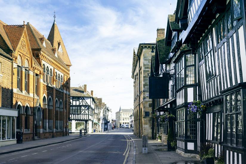 Geburtsort von Shakespeare Stratford upon Avon