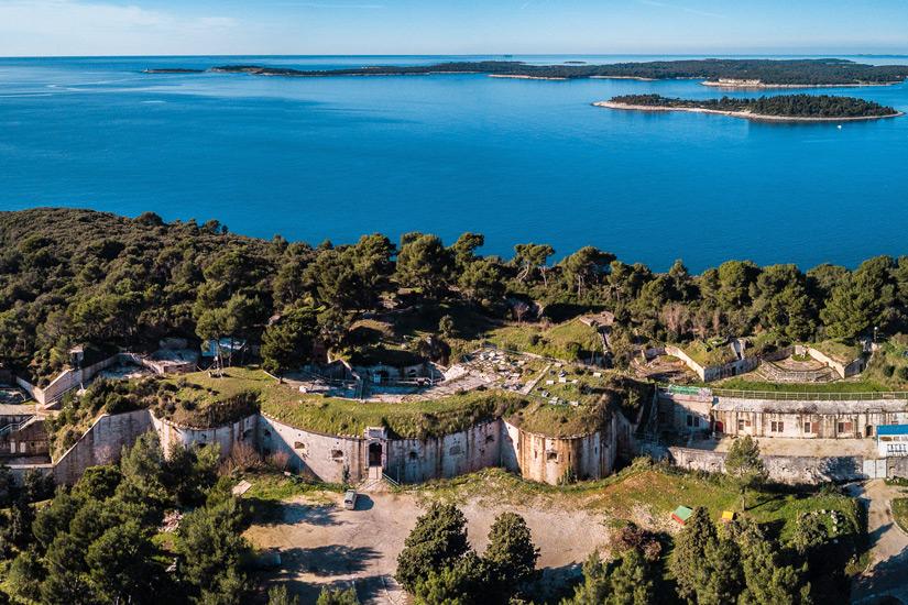 Das oesterreichisch-ungarische Fort Punta Christo