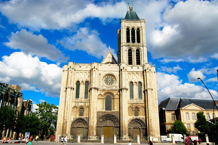 Die Basilika von Saint Denis