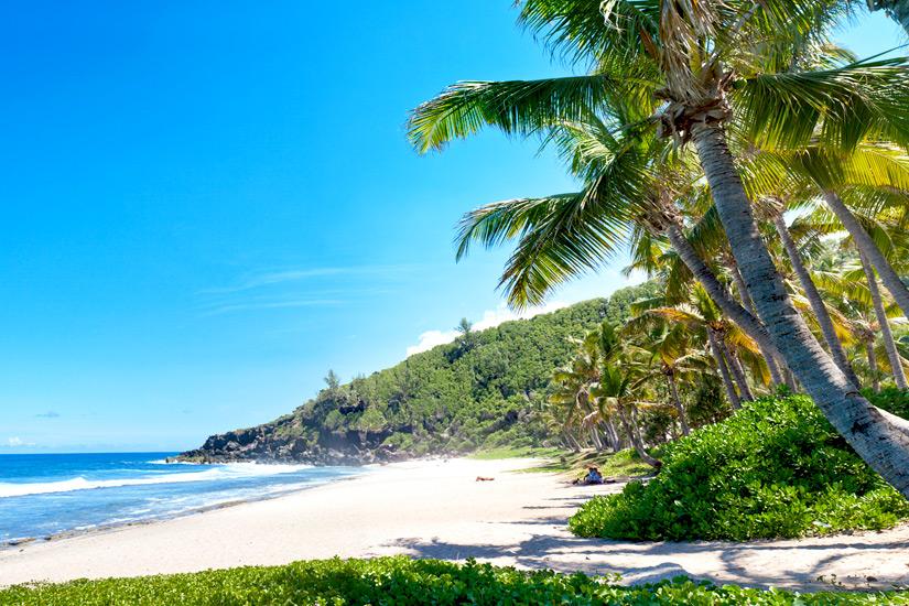Der paradiesische Plage de Grande Anse