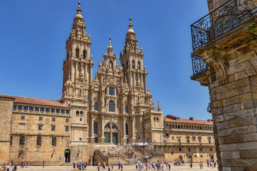Ziel der Pilgerwanderung die Kathedrale