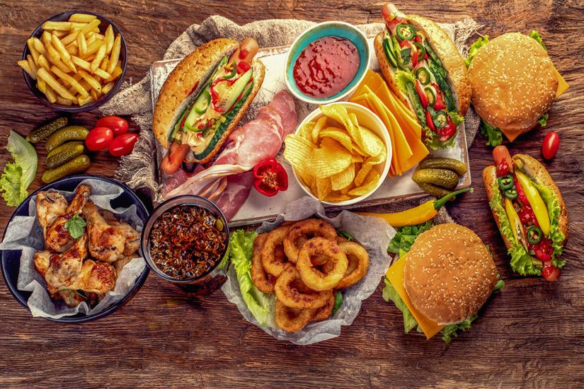 Amerikanisches-Fast-Food