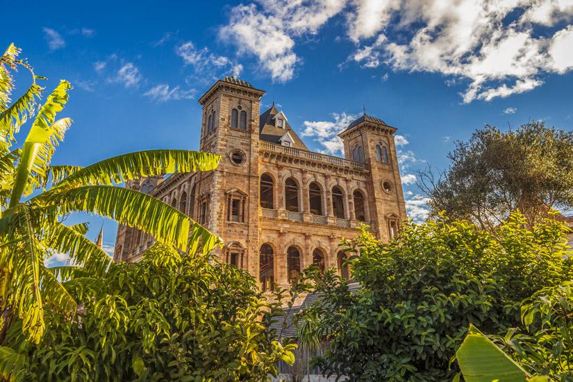 Koenigspalast in Antananarivo