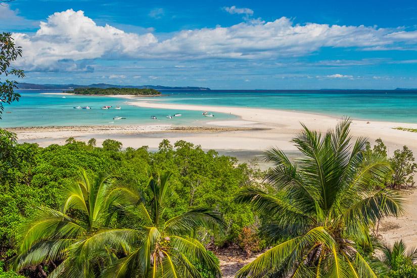 Madagaskar-Palmen-Strand