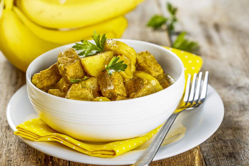 Curry-mit-Bananen