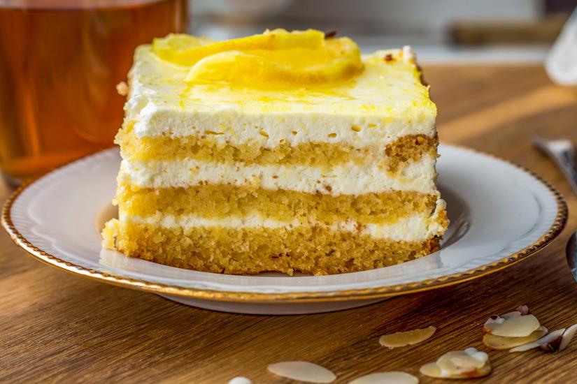 Die suesse Suende Lemon Curd Cake
