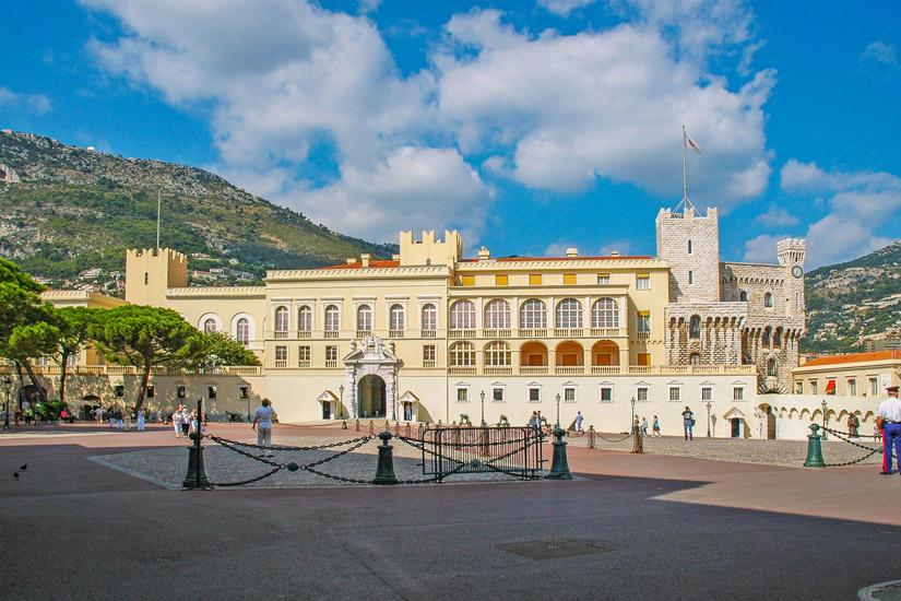 Residenz des Fuersten von Monaco