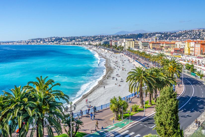 Die Baie des Anges in Nizza