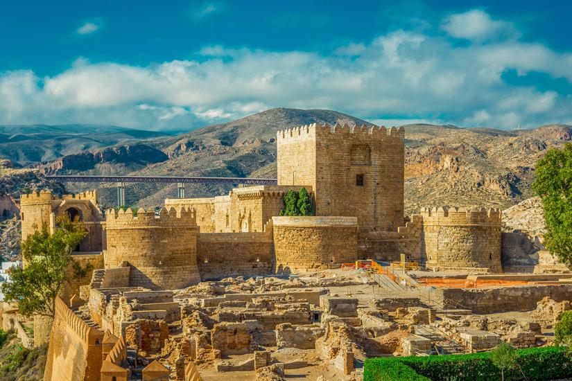 Die Alcazabar von Almeria