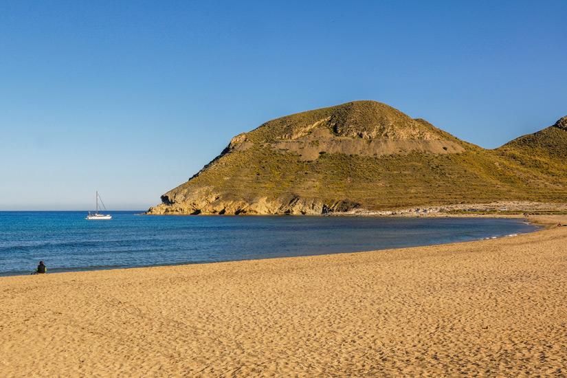 ElPlayazodeRodalquilar im Cabo de Gata Naturpark