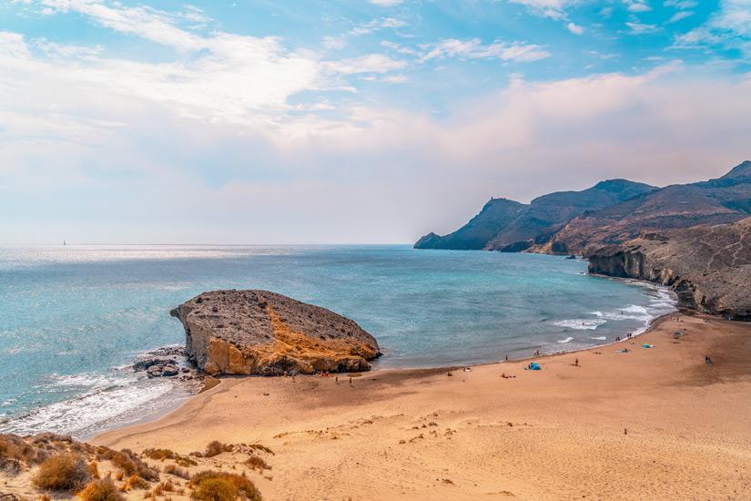 Playa Cala de Monsul im Cabo de Gata
