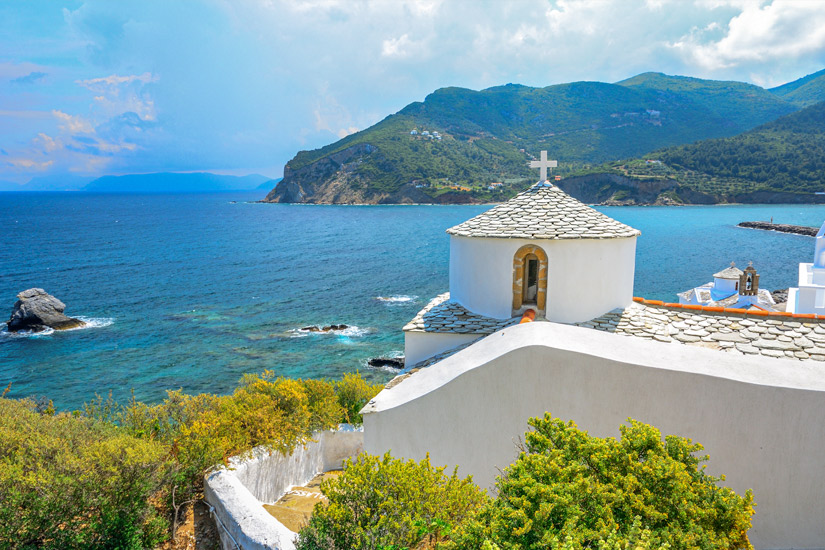 Skopelos-Insel-Griechenland