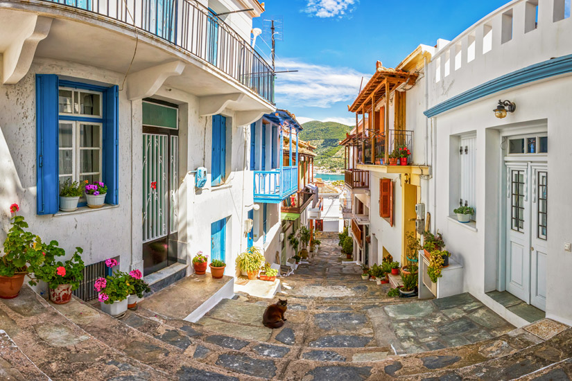 Skopelos-Stadt
