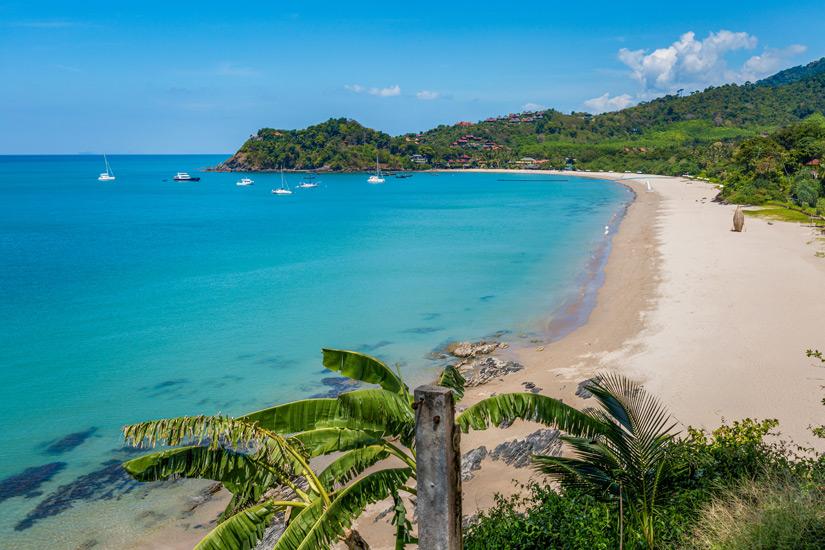 Ein schoener Tag an der Kantiang Bay