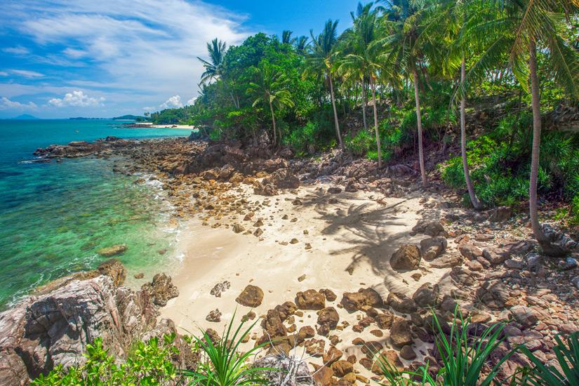 Einsamer Strand auf Koh Lanta