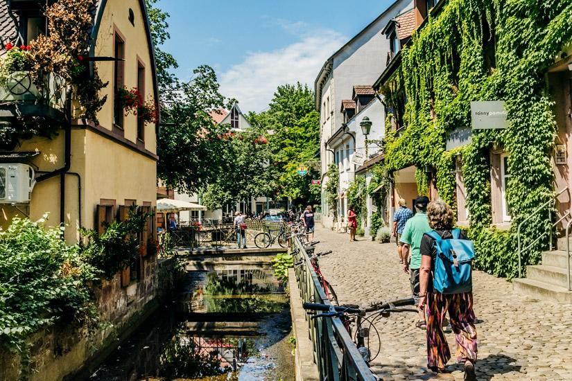 Freiburg-Altstadtgasse-Gerberau