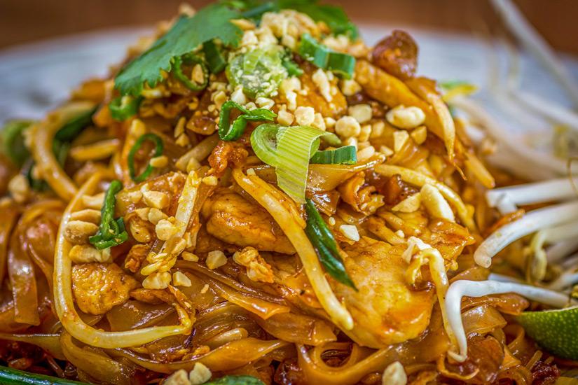 Nudelgericht Pad Thai
