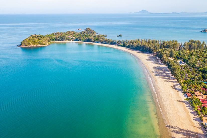 Am Klong Dao Beach Erholung suchen
