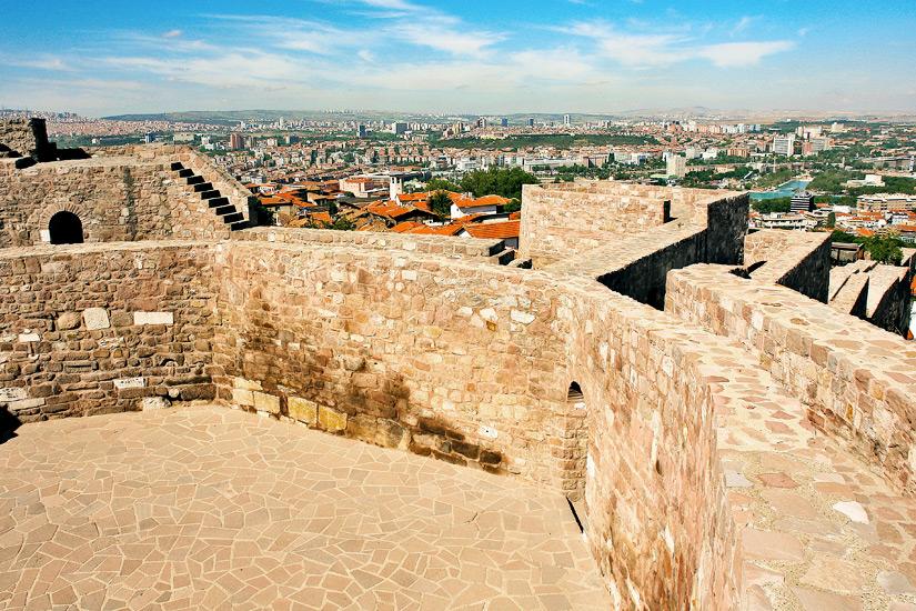 Festung-Zitadelle-Burg-Ankara