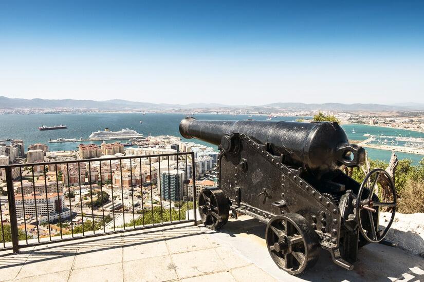 Aussichtspunkt in Gibraltar