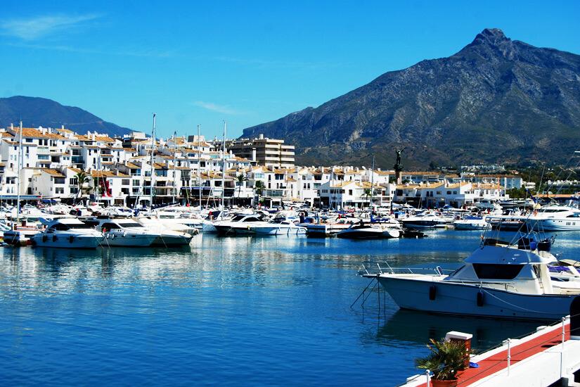 Jachthafen in Marbella