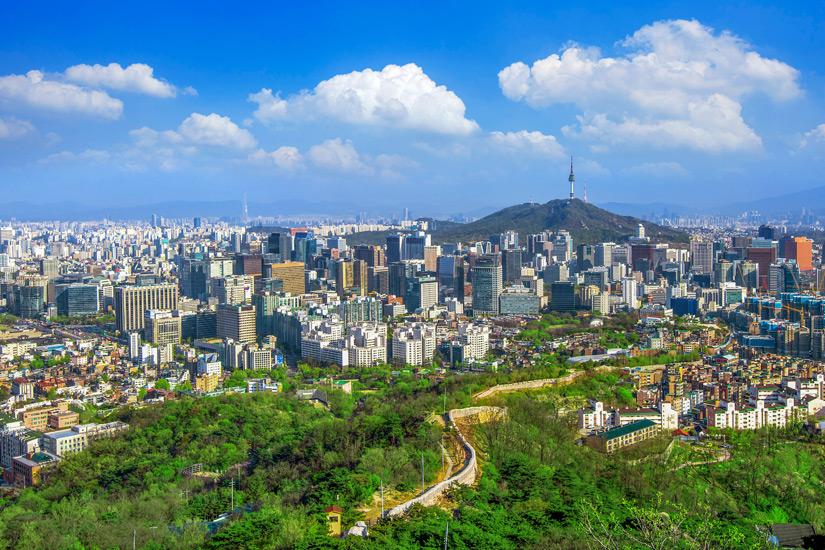 Blick-auf-Seoul