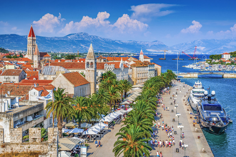 Uferpromenade-Trogir