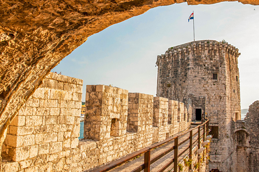 Festung-Kamerlengo-Trogir
