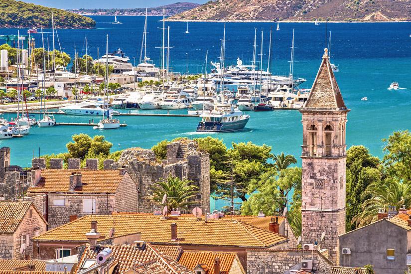 Trogir-Hafen