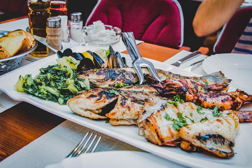 Fisch-Restaurant-Trogir