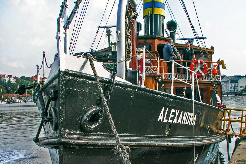 Leinen los Hafenrundfahrt mit der Alexandra