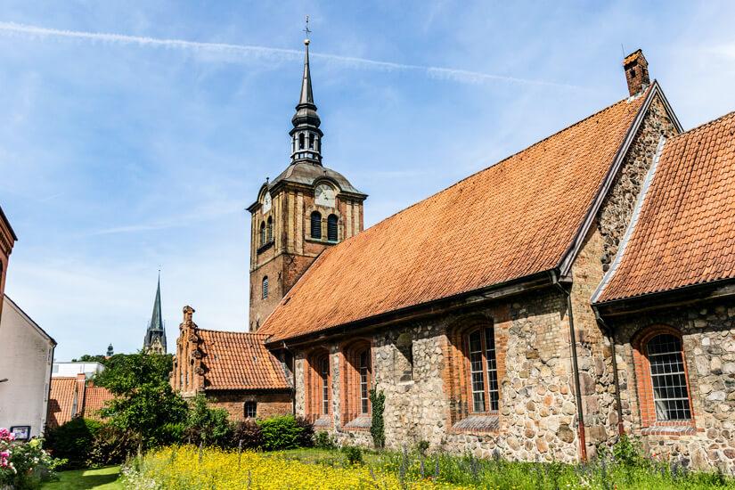Die Johanniskirche in Flensburg