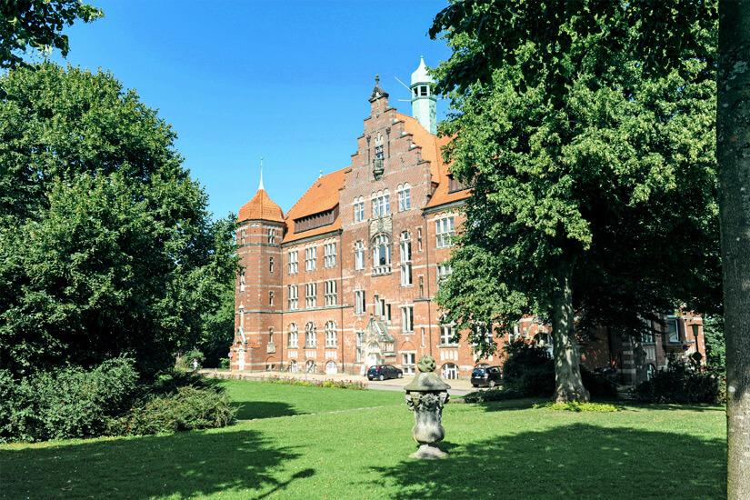 Das Heinrich Sauermann Haus auf dem Museumsberg