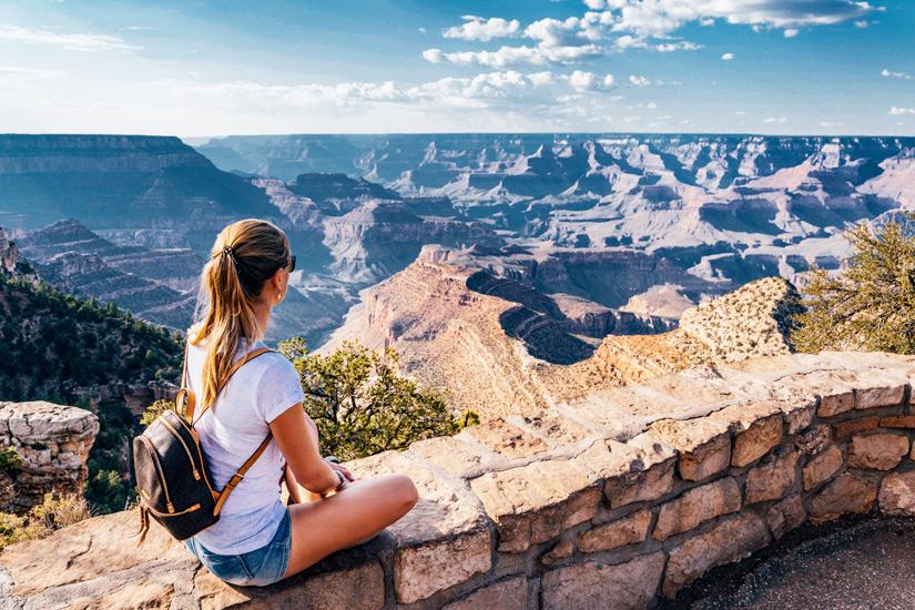 Ausblick-Grand-Canyon-Village