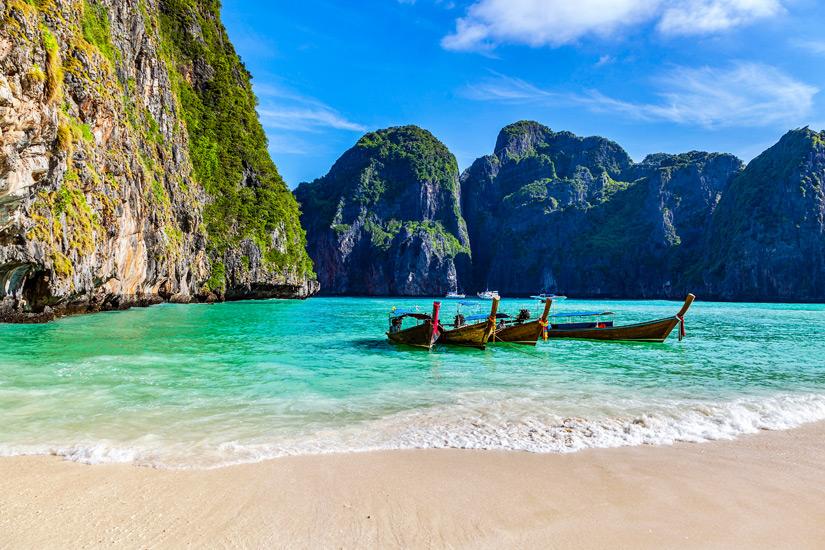 Weltbekannt durch den Film The Beach Maja Bay