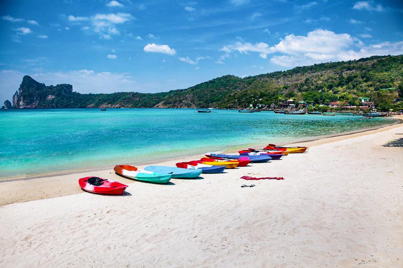 Wassersport am Lo Dalam Beach