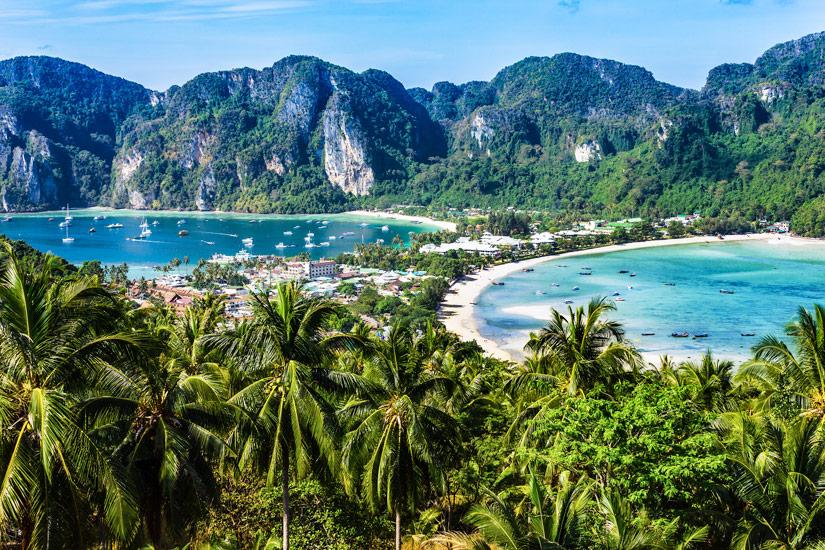 Aussichtspunkt auf Koh Phi Phi Don