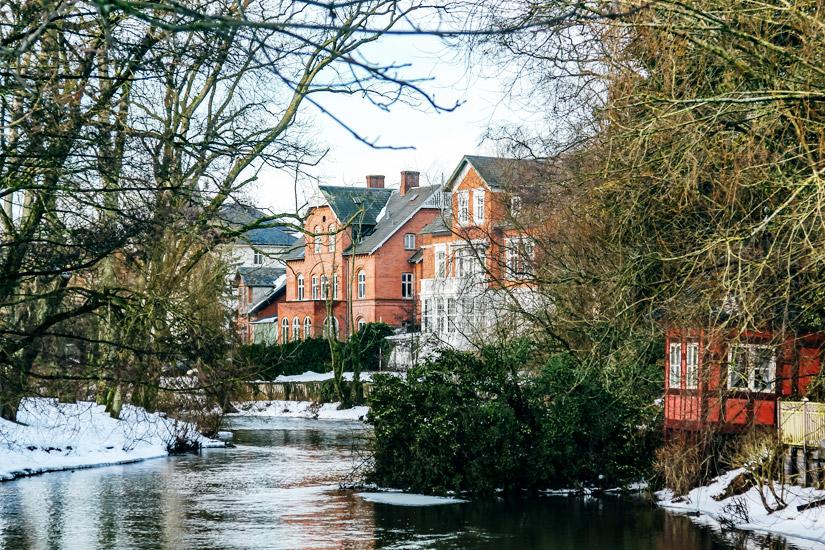 Odense im Winter