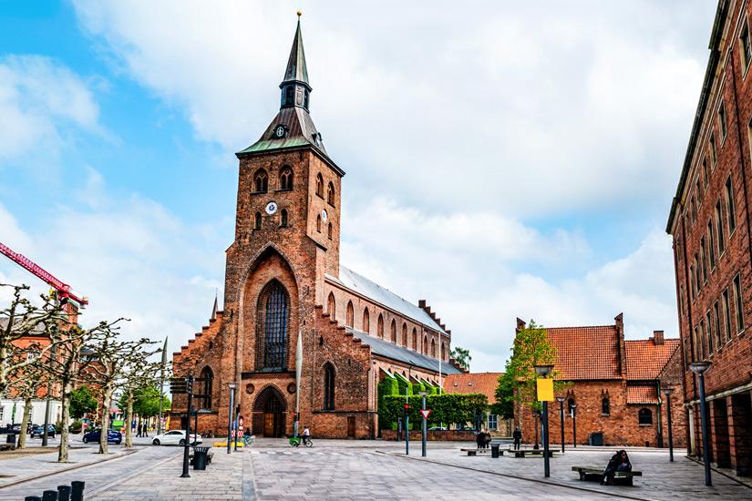 Der St Knuds Dom zu Odense