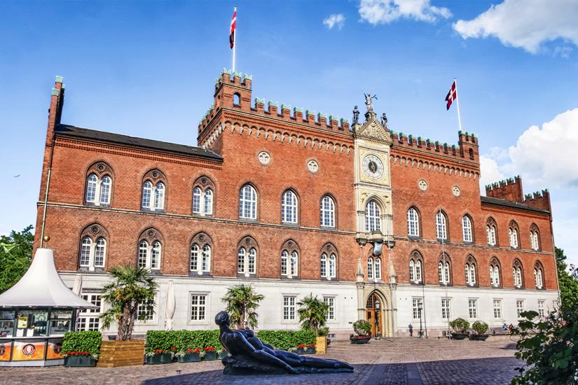 Das Odenser Rathaus
