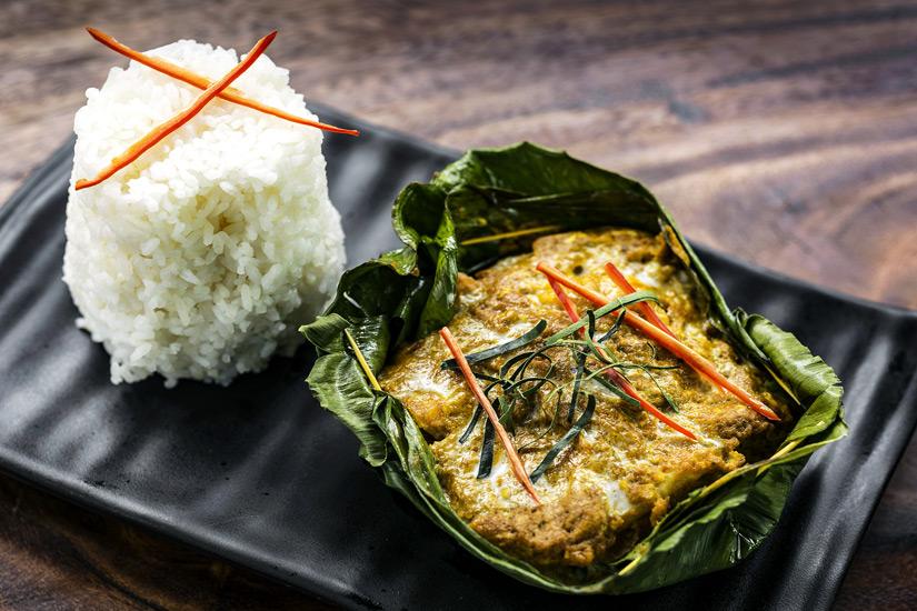 Das Nationalgericht Fish Amok
