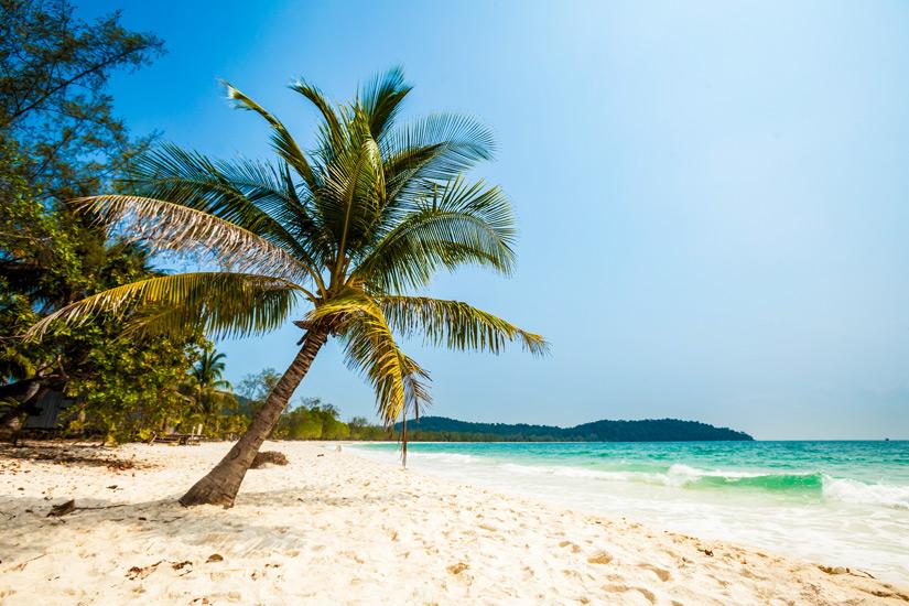 Strand so weit das Auge reicht Sok San Beach