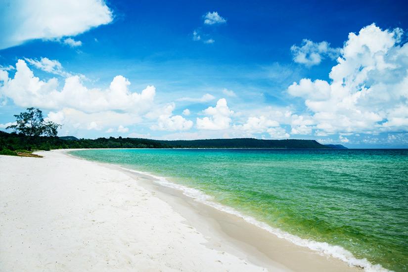 Paradiesischer Strand auf Koh Rong