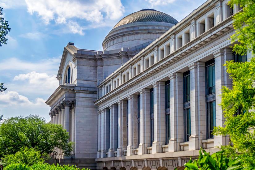 Das Nationalmuseum fuer amerikanische Geschichte
