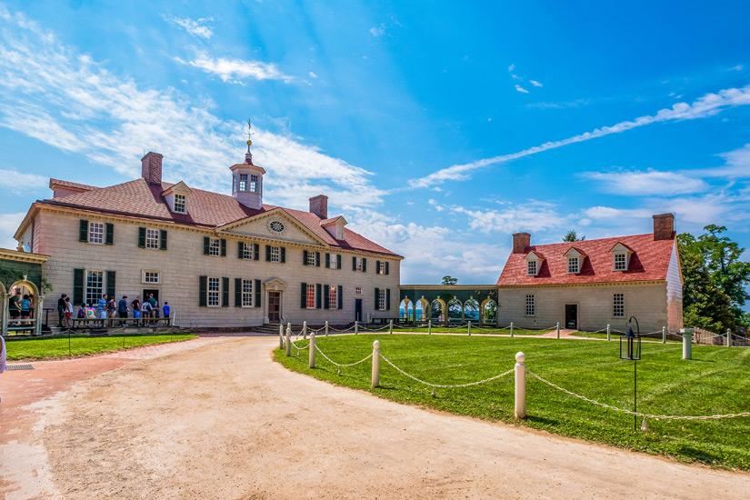 Georg Washingtons Anwesen Mount Vernon
