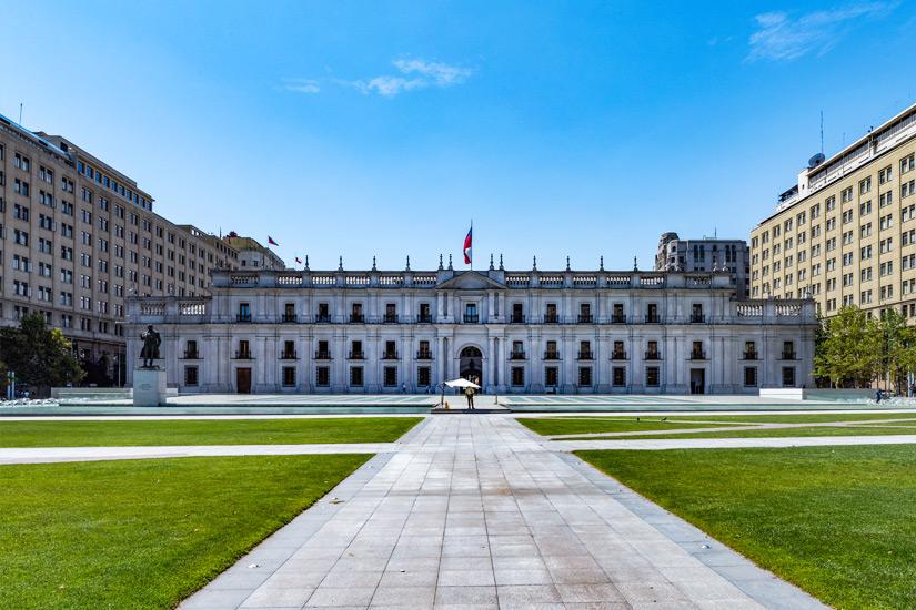 Amtssitz des Praesidenten Palace de La Moneda