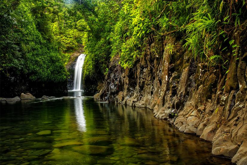 Wainibau Wasserfall im Bouma National Heritage Park