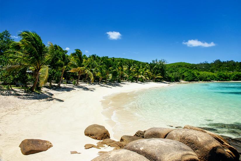 Strand auf den Yasawa Islands