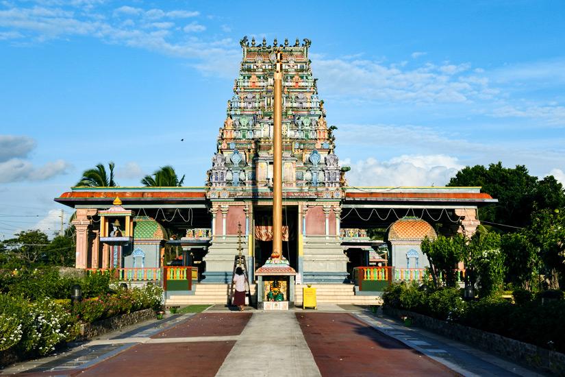 Hinduistischer Nadi und Sri Siva Subramaniya Tempel