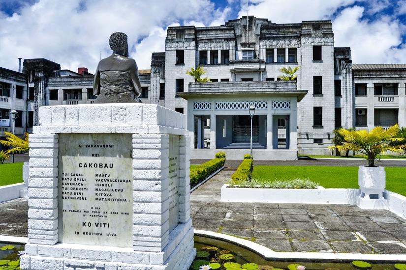 Das Government Building in Suva